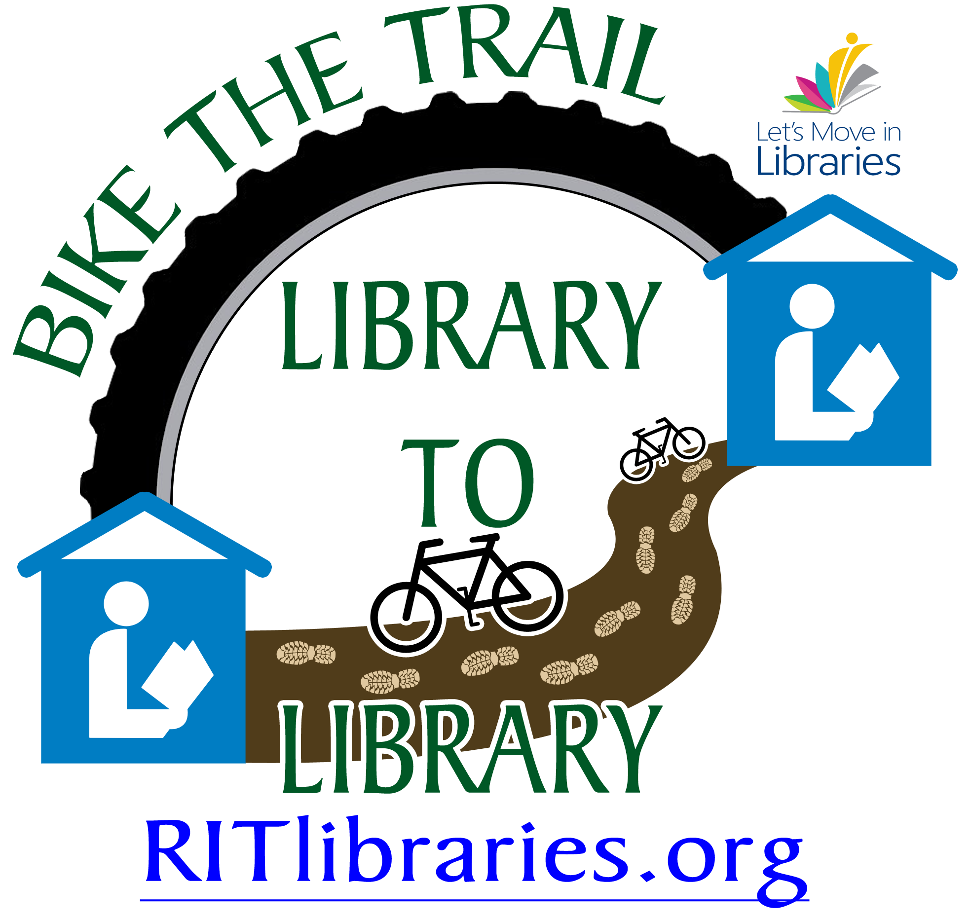 Bike the Trail Library to Library